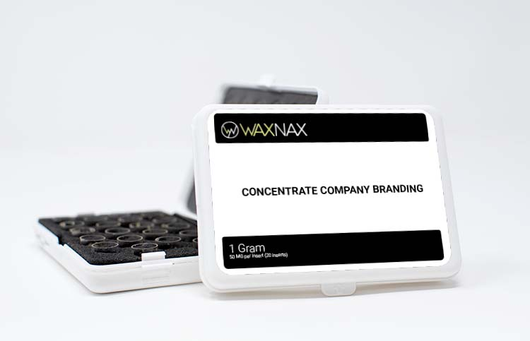 waxnax marketing materials POS cobranding